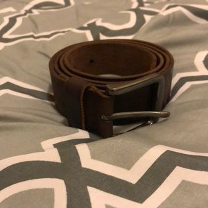 Used Mens Brown Timberland Leather Belt